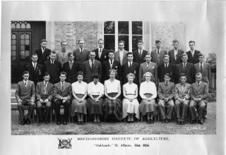 Horticultural students during 1956/57