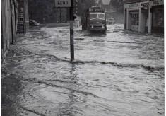 Flood in High Street Knebworth