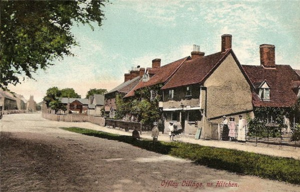 Offley - scenes from the village