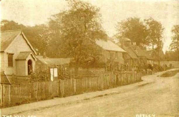 Offley village 1917