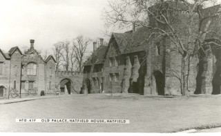 The Old Palace, Hatfield House, Hatfield | Hertfordshire Archives and Local Studies, Ref: HTD.41F