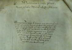 Survey of the Manor of Cheshunt, 1669
