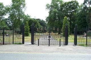 Celebration Gates, Erected in 2002 for Queen Elizabeth II's Golden Jubilee   Jane Ruffell