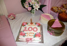 Kitty's 100th birthday