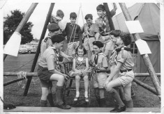 Scouts at Cheshunt Grammar School