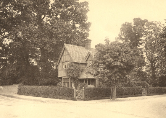 'West Lodge' | Hertfordshire Archives and Local Studies ref D/EL1215