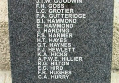 New names added to Cheshunt War Memorial