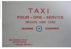 41 Taxis and Gifford School of Motoring