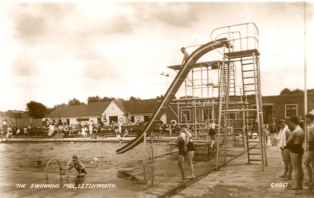 Letchworth Lido Letchworth Places Herts Memories