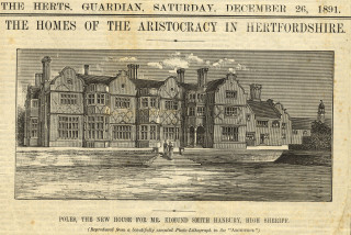 The new house is completed | Herts Archives & Local Studies