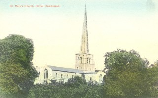 St Mary's Church, Hemel Hempstead | Hertfordshire Archives and Local Studies