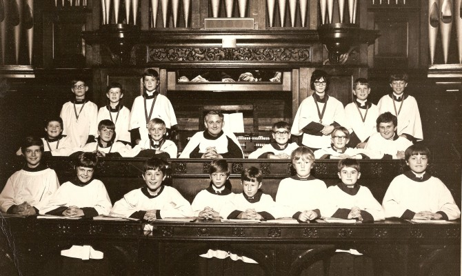 St Peter's Church Choir around 1973 | Andy Lawrence