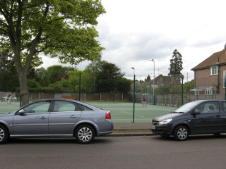 Looking towards where Cassiobury House once stood | Suzanne Nicholls