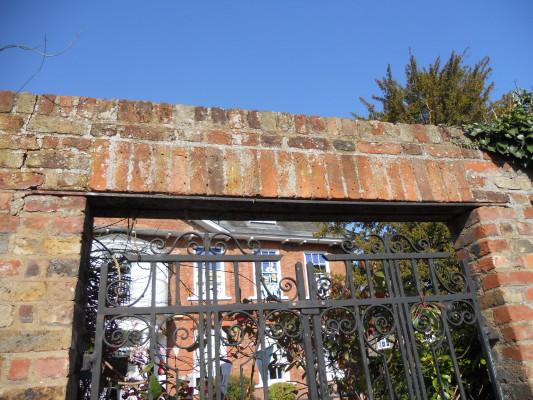 Gates to the garden of The Grange | Glenys Lardi