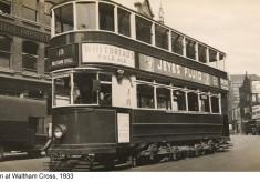 Trams in Waltham Cross