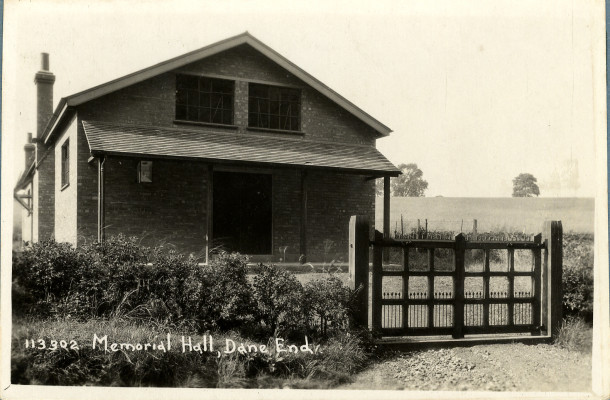 The Memorial Hall | Hertfordshire Archives and Local Studies