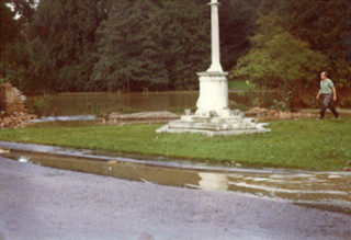 The War Memorial - in its earlier location | Anon.