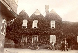 A much earlier photograph of Watton Place - 1912 | Hertfordshire Archives and Local Studies