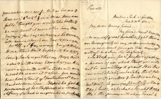Letters from William Wilberforce to Abel Smith, 1822-30