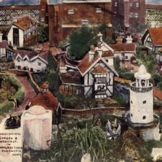 Woodcarver's model village   Hertfordshire archives