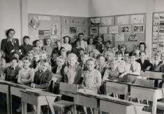 Warren Dell school late 1940's