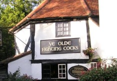 """Ye Olde Fighting Cocks"" - the oldest public house in England?"