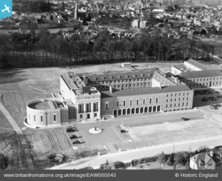County Hall Hertford in 1946 | Historic England