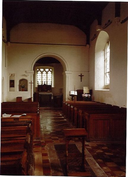 Interior of church | JHL