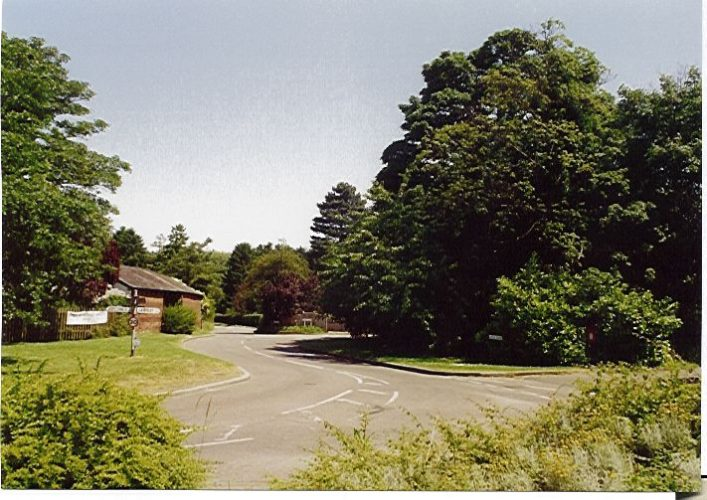 Junction of Arch Rd & Wymondley Rd looking towards Willian