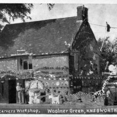 The Woodcarver's Workshop | Woolmer Green Parish Council
