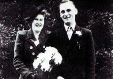 The marriage of Harry Ward & Muriel Draper