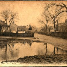 Village Pond, early 1900s | Woolmer Green Parish Council