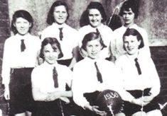 Girls School Netball Team, 1936