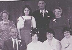 A Family Wedding Group
