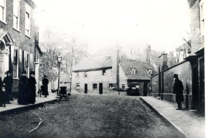 Unidentified Street Scene - Hertfordshire Archives & Local Studies