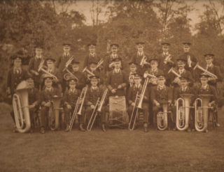 The Town Band in 1923