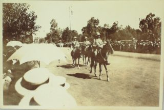 Marching through Cairo, 1914