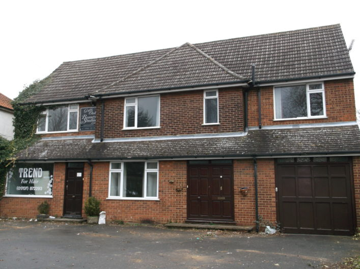 26 Cuffley Hill, Goffs Oak before conversion to flats.