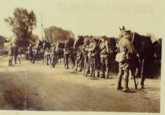 HERTS Yeomanry doings as far as they concerned T. Holland-Hibbert from 4th August to 8th September 1914