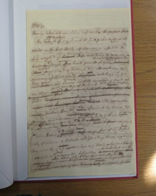 Lord  Cowper's notes on Treaty of Utrecht
