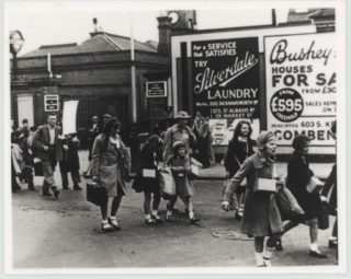 Evacuees at Bushey