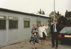 The Peace Hospice Portacabin 1993 - 1996