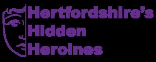 Herts Hidden Heroines logo