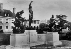 The War Memorial Sculptures, Peace Memorial Hospital