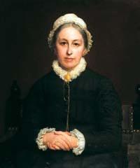 Emily Davies portrait by Rudolph Lehmann, 1880 | By Rudolph Lehmann, 1880