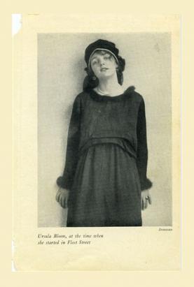 Black & White Photo of Ursula Bloom