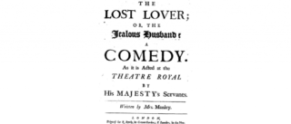 Poster for the a theatre play.