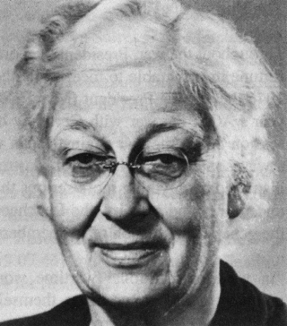 Photo of Dr Gladys Miall-Smith