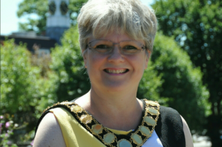 Image of Former Mayor of Hatfield, Councillor Lynne Sparks.