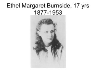 Image of E. Margaret Burnside, Aged 17